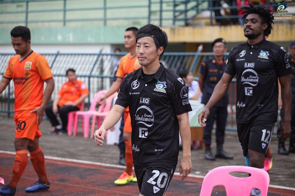 タイリーグで活躍する日本人選手
